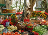 Street Market and Vendors - Provence- Cote d'Azur, France